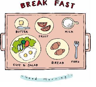 朝食の欠食について