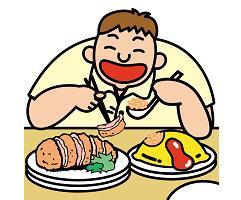 食べ過ぎを防ぐ一工夫