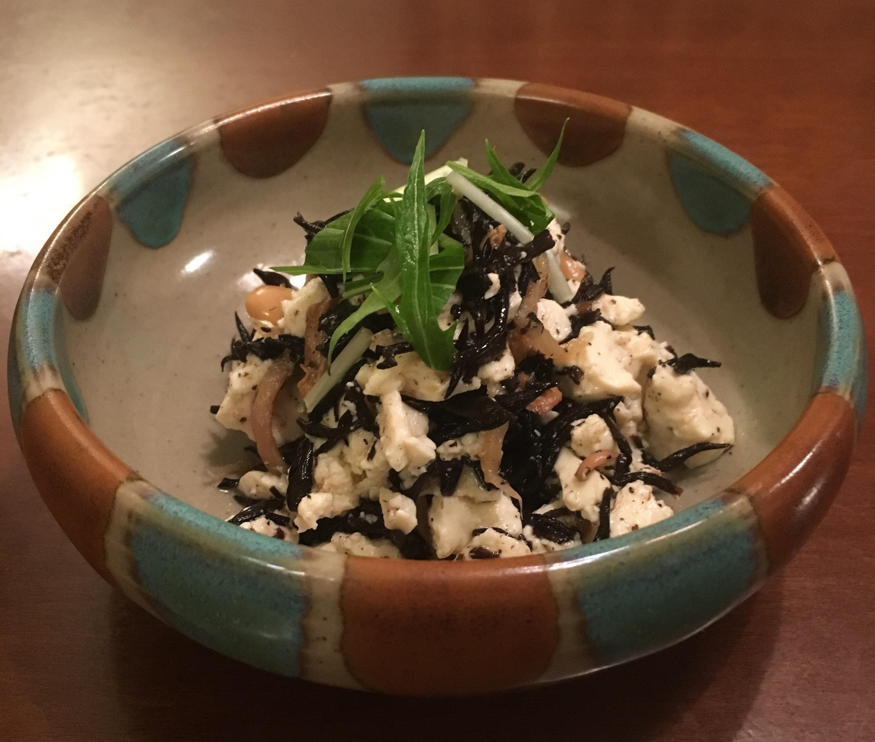 ひじき豆腐
